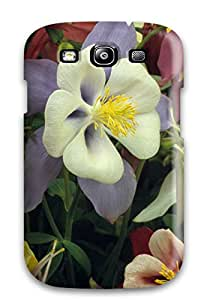 Awesome Case Cover/galaxy S3 Defender Case Cover(earth Flower)