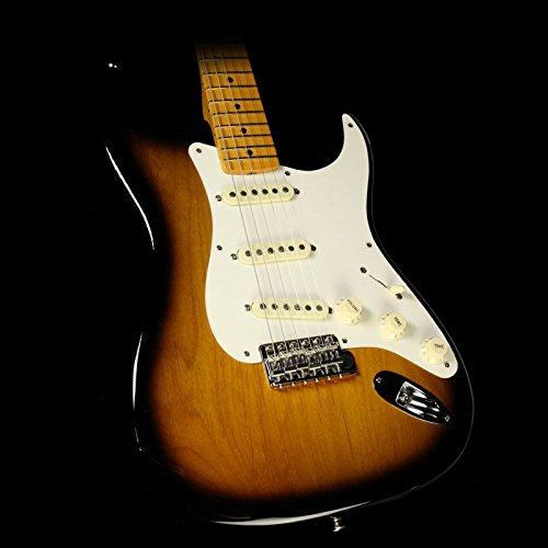 Fender Eric Johnson Stratocaster, Maple Fretboard - 2-Color Sunburst - Fender Strat Neck Screws