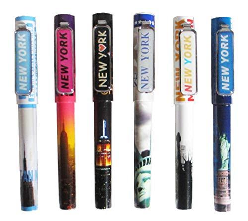 New York Souvenir Pen Set of 6 ()