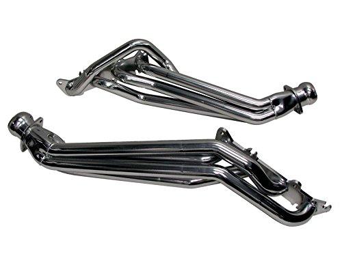 BBK 1633 1-3/4″ Long Tube Full Length High Flow Performance Exhaust Headers For Mustang GT – Chrome Finish