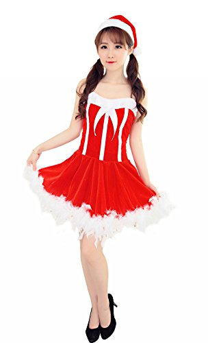[YFFaye Women's Christmas Fun Role-Playing Nurse Suit] (Disguise Costumes For Turkey)