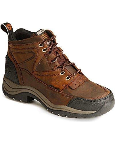 H2o Womens Boots - ARIAT Women's Terrain H2o Waterproof Boot Copper 7.5 W US