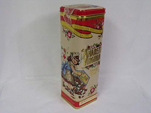 (2002 Amaretti Virginia ORIGINAL Vintage Italian Biscuit Container)