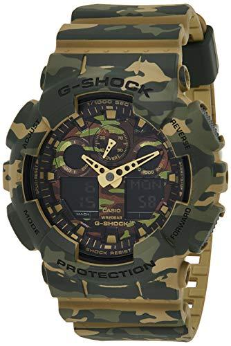 Casio Reloj Analógico para Hombre de Cuarzo con Correa en Resina GA-100CM-5AER 1