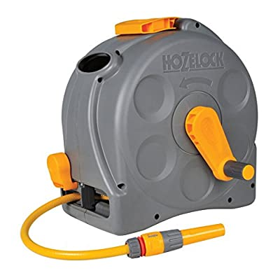 Hozelock 2415 2-n-1 Compact Reel + 25 Metres of 11.5 mm Hose