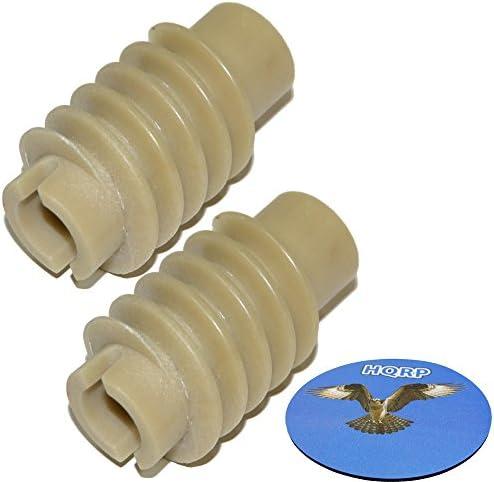 HQRP Worm Gear 2-Pack CompatibleCraftsman 139532006 13953225SRT 13953225SRT1 139533006 13953315SR 13953325SRT 13953200 13953210 13953300 13953310 Garage Door Opener Access System Coaster