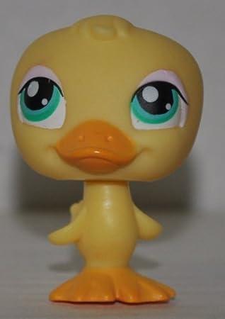 Amazon.com: Duck #150 (Yellow, Blue Eyes, Eyelashes, pale pink ...