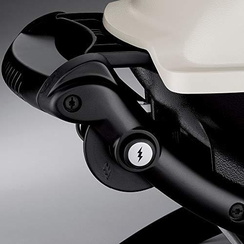 Weber 51010001 Q1200 Liquid Propane Grill, Black