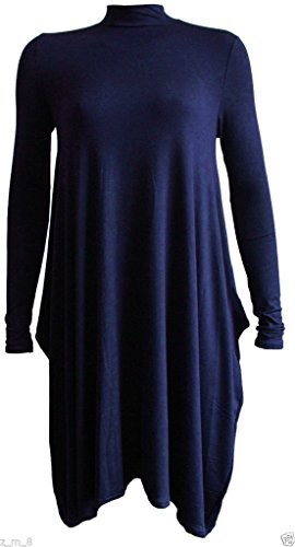 Re Tech UK - Vestido - para mujer azul marino