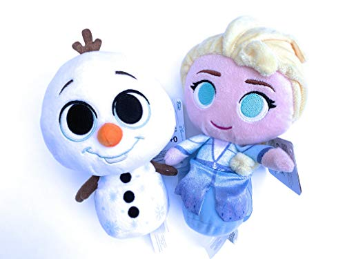 Frozen 2 Super Cute Plushies - Elsa and Olaf
