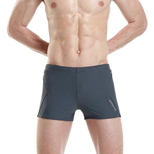 ZQ@QXLes slips hommes Boxer Shorts pantalons de plage XL,XL,ash
