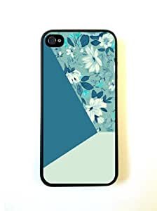 Floral Triangles iphone 4 Cover Iphone 4s Case - For iphone 4 Cover Iphone 4s...