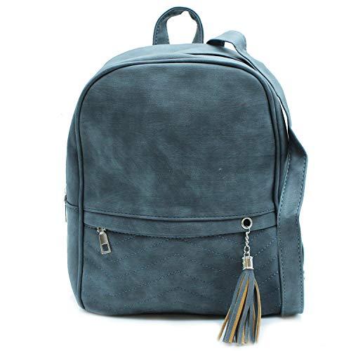 Mochila 8559 Misemiya Para Bolsos Mochilas Azul Mujer De Sr 7fHwxA