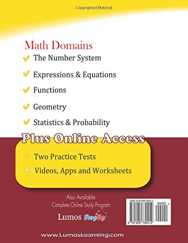Counting Number worksheets maths probability worksheets : Ohio State Test Prep: 8th Grade Math Practice Workbook and Full ...