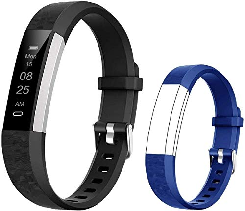 BIGGERFIVE Fitness Tracker Watch for Kids Boys Girls Teens, Pedometer Watch, Activity Tracker, Sleep