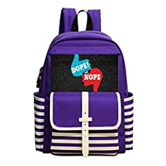 This high-quality school bag is timeless and classic,offers fashion and function for day to day use .Padded back and front for protection and comfort.Suitable for any occasions, like a trip outside, go to the zoo, playing in the park or any o...