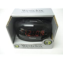 Westclox Super Loud LED Display Alarm Clock