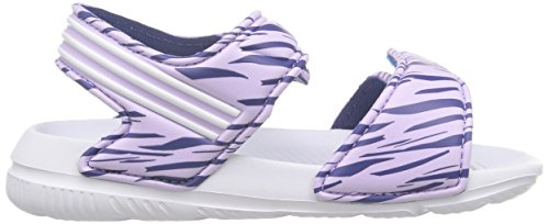adidas Unisex Baby Akwah 9 I Lauflernschuhe Weiß / Violett / Schwarz (Brimor / Ftwbla / Mornat)