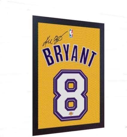 SGH SERVICES Kobe Bryant LA Lakers - Autógrafo de la NBA con Marco ...