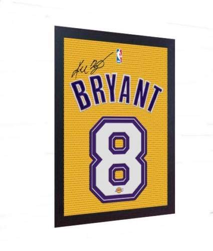 (S&E DESING Kobe Bryant LA Lakers Signed Autograph Printed on 100% Canvas)