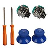 xbox repair parts - Timorn 2pcs Replacement Thumbsticks Joysticks Swap and 2pcs Wireless Controller Rocker with T8 T10 Torx Screwdriver Repair Kits Parts for Xbox One Controller