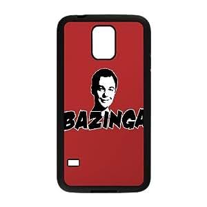 Samsung Galaxy S5 Cell Phone Case Black Bazinga 2 Z4P3CY