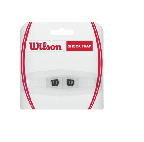 Wilson Shock Trap Tennis Vibration Dampener, Clear -