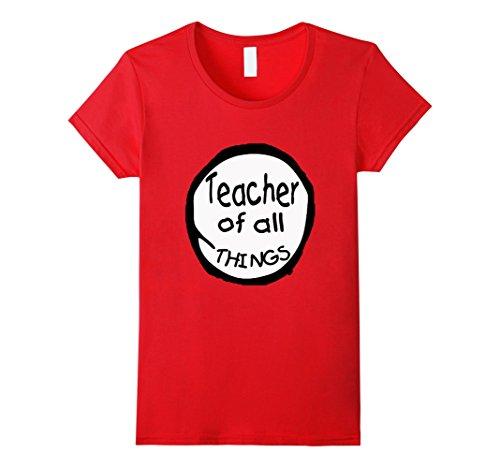Womens Teacher of all things - Teacher Shirt Medium (Teacher Things)