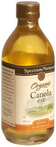 Cooking Oils: Spectrum Organic Canola Oil
