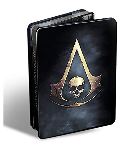 XBOX 360 Assassin's Creed IV Black Flag Game with Collectible SteelBook NM