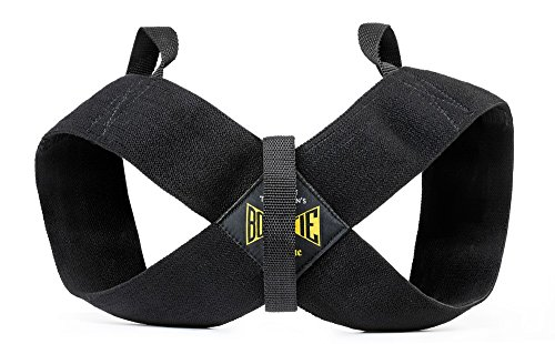 Spud Casual Bowtie Posture Support Brace Corrector No Rounded Shoulders Donnie Thompson (Large: 185 lbs. – 225 lbs.) by Donnie Thomsons