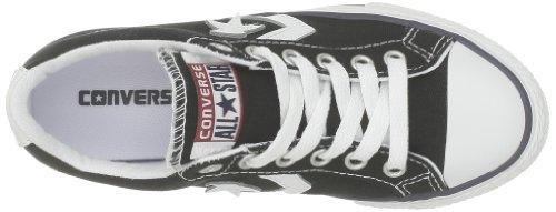 Converse Sp Ev Canvas Ox 290360-31-8 - Zapatillas de tela para niños Negro (Schwarz (Noir))