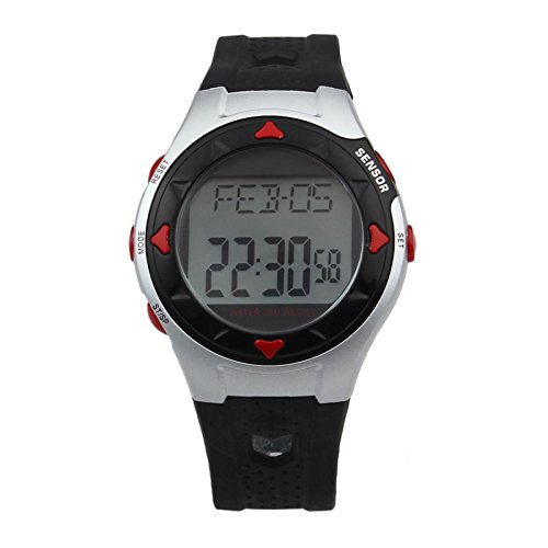 Sports Fitness Counter Pulse Heart Rate Monitor Watch - 9