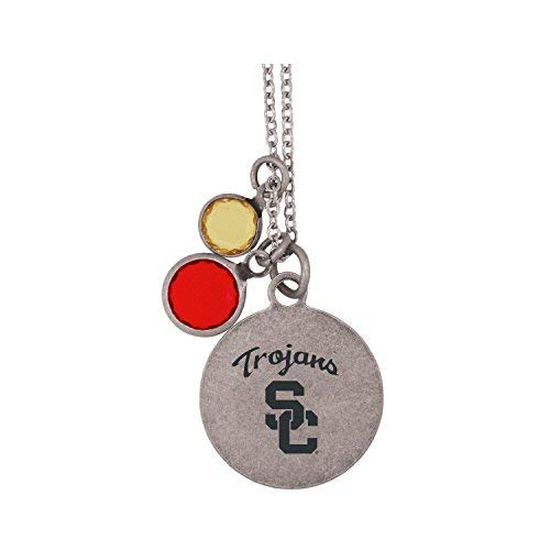 (University of Southern California-Frankie Tyler by LXG Charmed Necklace)