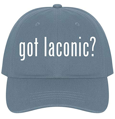 The Town Butler got Laconic? - A Nice Comfortable Adjustable Dad Hat Cap, Light Blue