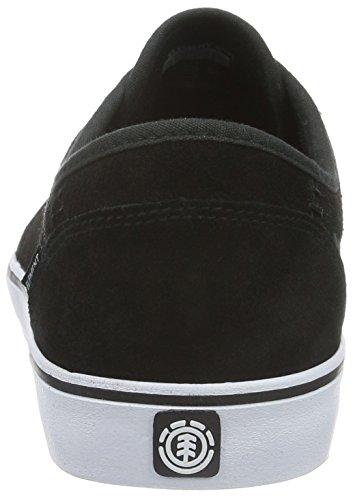 Element Element Darwin Herren Sneakers - Zapatillas Hombre Negro - Schwarz (6320 Black White)