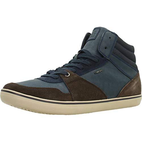 Bleu Case Haut Chaussure Hommes Geox J U xE0wqwpY8
