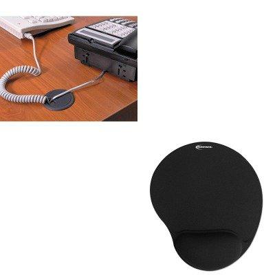 KITIVR50448MAS00202 - Value Kit - Master Caster Adjustable Grommet (MAS00202) and Innovera Mouse Pad w/Gel Wrist Pad (IVR50448) ()