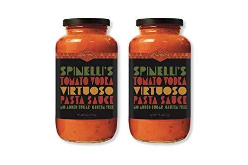 SPINELLIS SAUCE CO Tomato Vodka Virtuoso Pasta Sauce, 26 OZ, 2 JARS