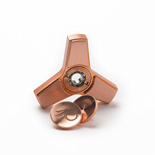 Cool Fidget Spinner Metal Toy - Rose Gold Hand Spinner, Finger Figit Toy with Nice Gift Case Photo #6