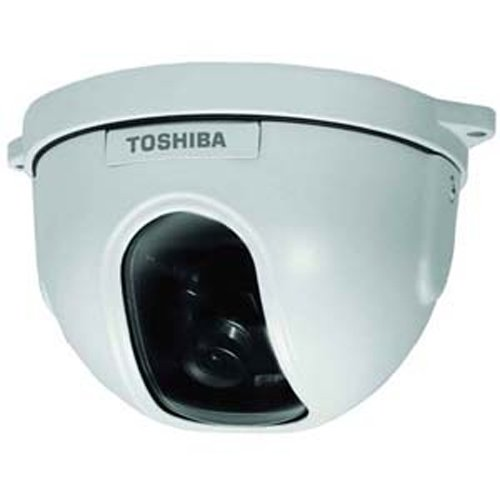 Toshiba IK-DF03A-3.6 Analog Mini-dome Camera, 480 TV Lines, 3.6mm Lens, IP65