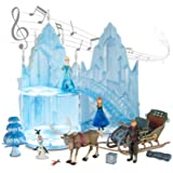 Ch teau de glace musical et lumineux d 39 elsa la reine des neiges frozen jeux et jouets - Chateau de glace reine des neiges ...