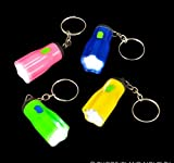 1.5'' STAR SHAPED FLASH-LIGHT KEYCHAIN, Case of 576
