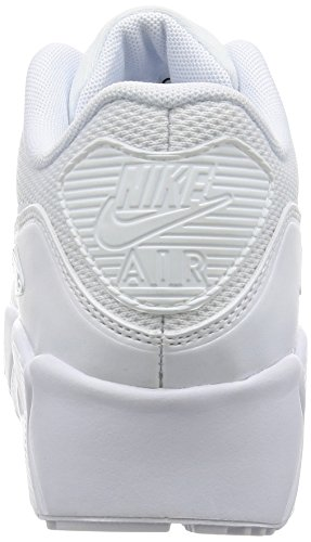 Nike Air Max 90 Ultra Ess 2.0 Gs, Zapatillas Unisex Niños White White