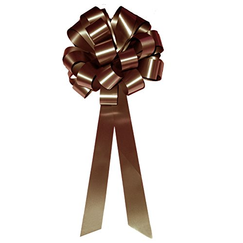 (Brown Pull Bows with Tails - 8