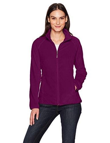 White Sierra Cozy Fleece Jacket II, Dark Purple, (Ultimate Loft Jacket)