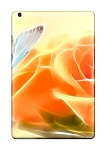 Pretty RzMkThO2434nZVsp Ipad Mini/mini 2 Case Cover/ Electric Flower With Butterfly Series High Quality Case