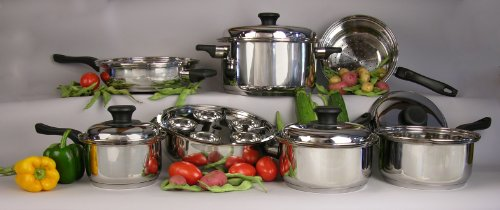 7ply waterless cookware - 3