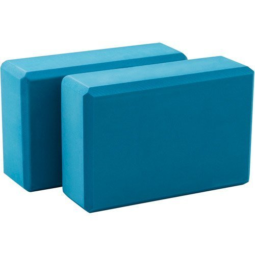 Lotus Yoga Block (Blue)