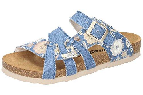 701142 Dr Brinkmann womens 5 Bleu blau Pantolette P4SvdSq